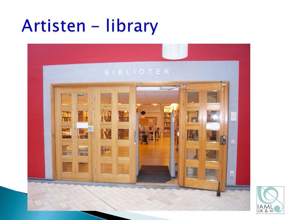 Artisten - library