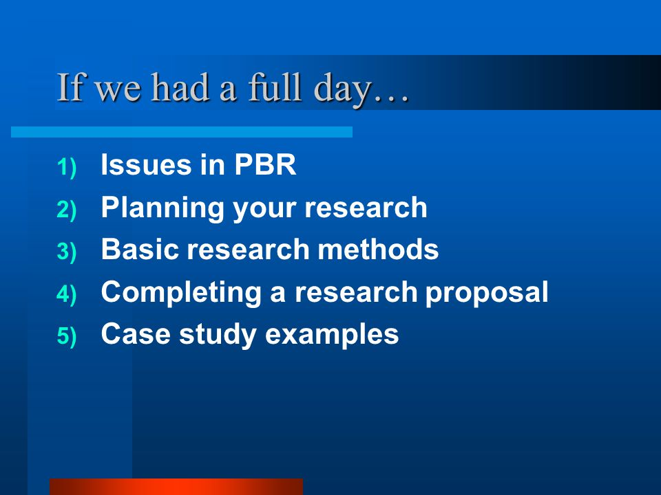What is Practice-Based Research.