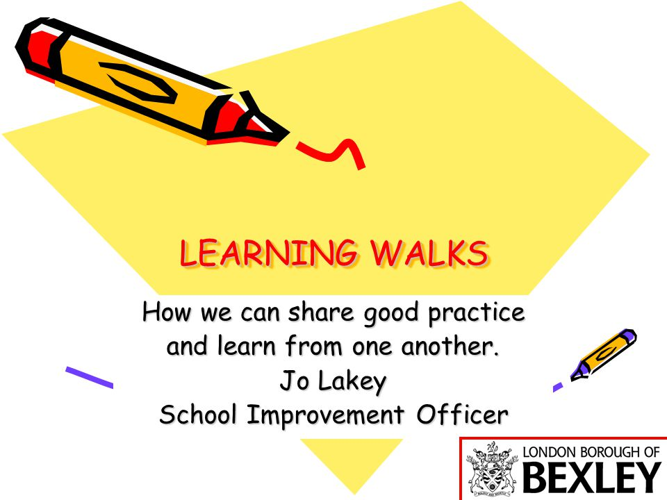 Time for Reflection Would you use learning walks to monitor, evaluate and review the impact of language learning across your school.