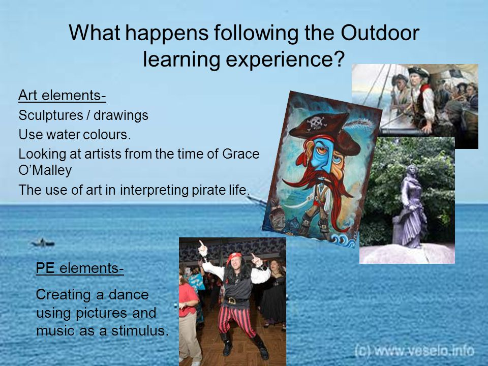 What happens following the Outdoor learning experience.