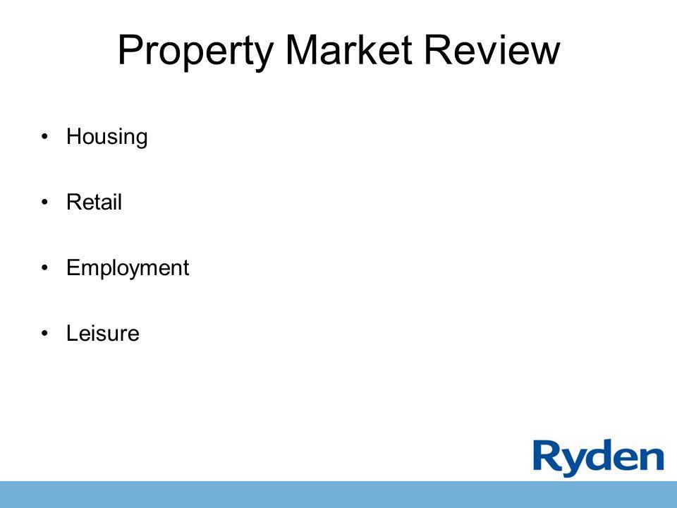 Property Market Review Housing Retail Employment Leisure