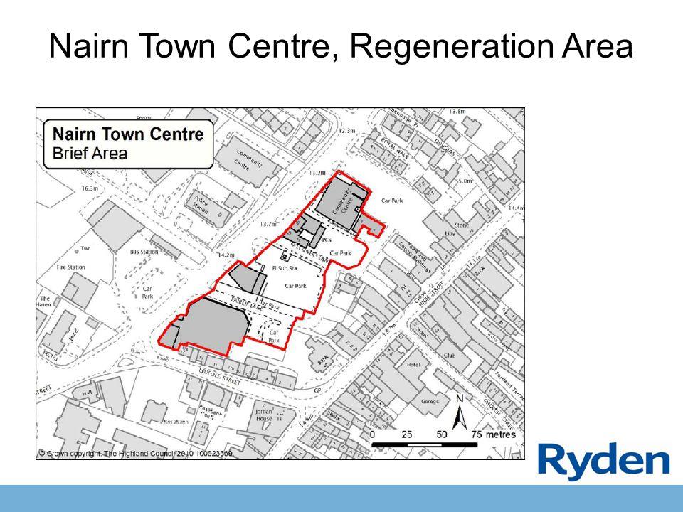 Nairn Town Centre, Regeneration Area