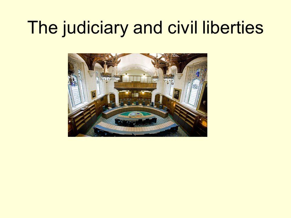 The judiciary and civil liberties