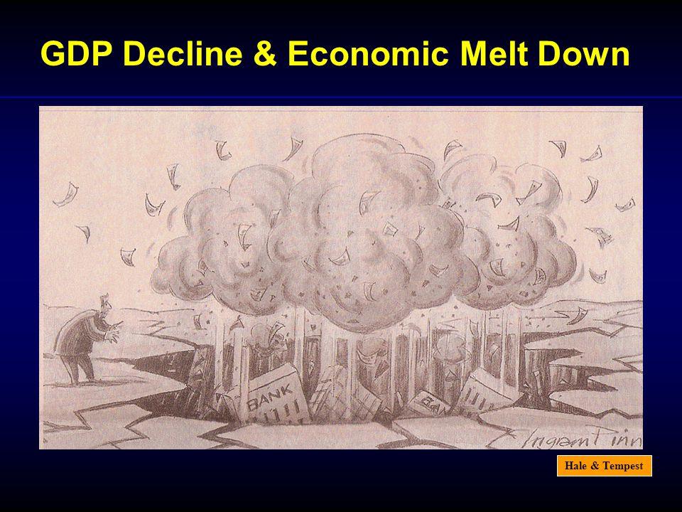 Hale & Tempest GDP Decline & Economic Melt Down