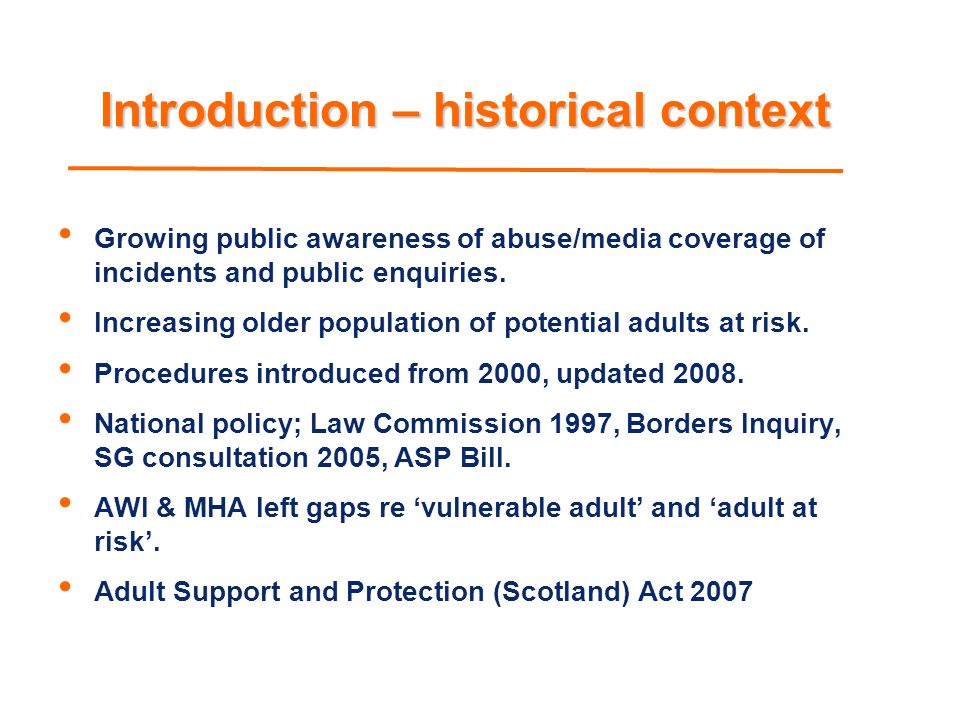 Ms A; selected recommendations APC to coordinate multi-agency training on capacity and consent to sexual activity and vulnerable witnesses APC to ensure procedures include reference to vulnerable adult witness support APC to ensure procedures allow for appropriate sharing of information Clarify role of MHO in adult protection case conferences