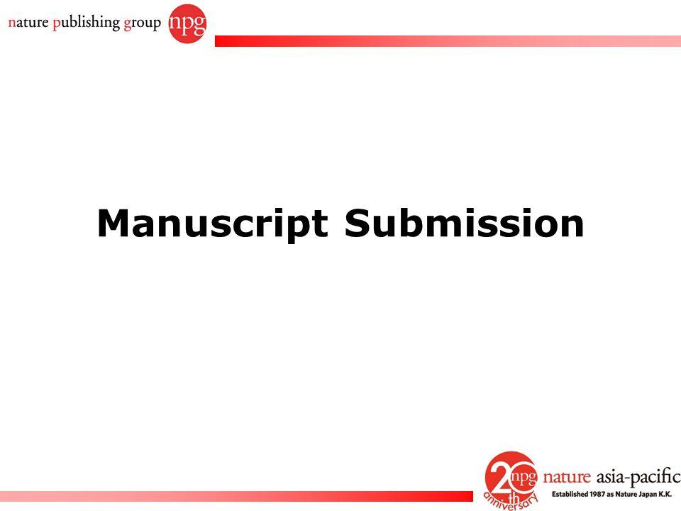 Rachel PC Won Manuscript Submission