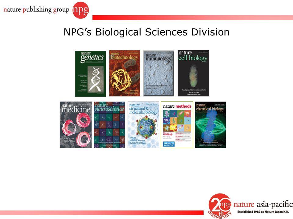 Rachel PC Won NPG's Biological Sciences Division