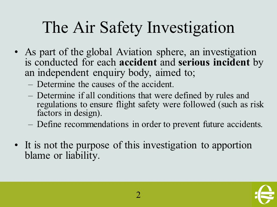 43 A series of work groups within EASA are thinking about how to improve flight safety.(ESSI) One of them is about General Aviation (EGAST).