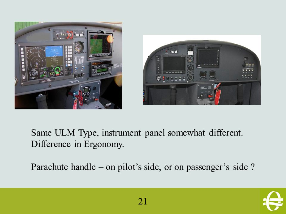 21 Same ULM Type, instrument panel somewhat different.