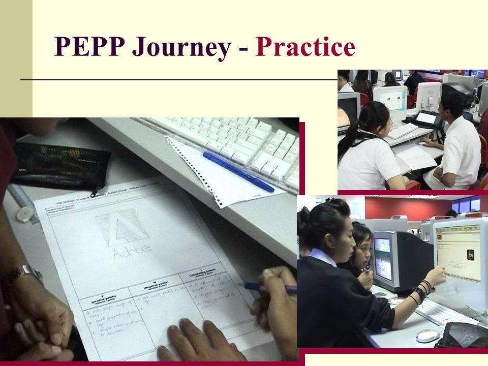 PEPP Journey - Practice
