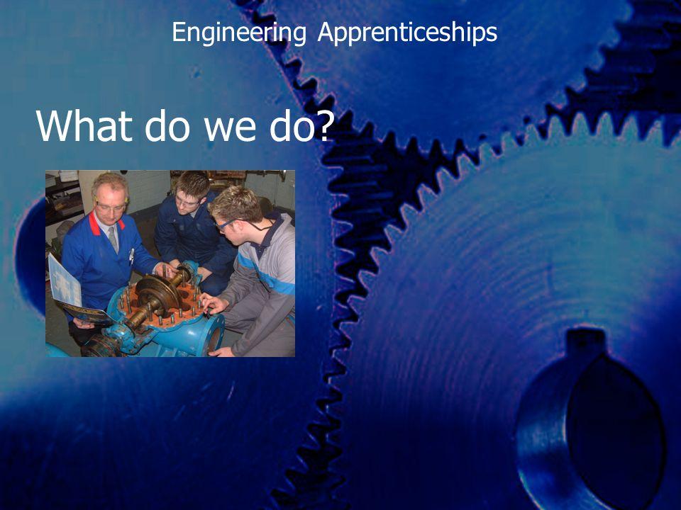 What do we achieve? Engineering Apprenticeships
