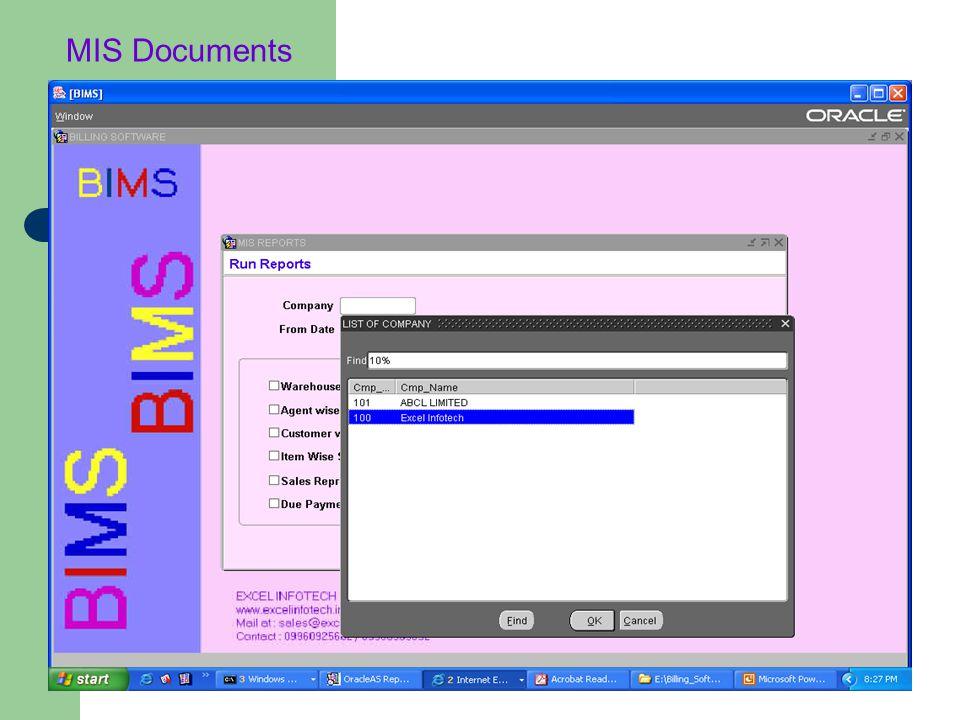 MIS Documents