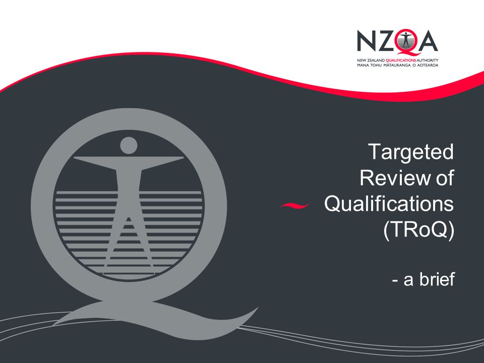 Targeted Review of Qualifications (TRoQ) - a brief