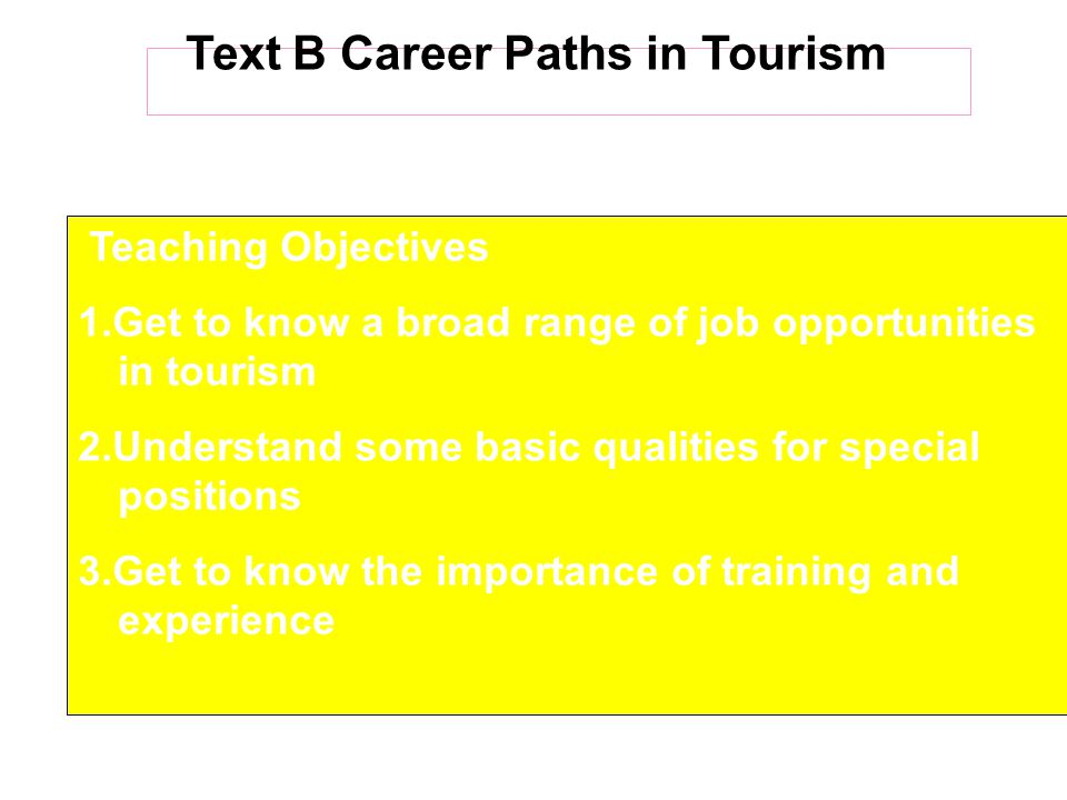 Questions for Discussion  Why is a good tour guide crucial to any successful tour.