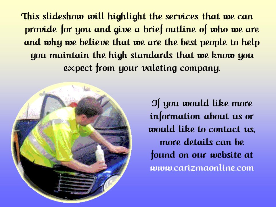 Services Provided Among the many services that we can provide to you are the ones that we know are high on your list of priorities.