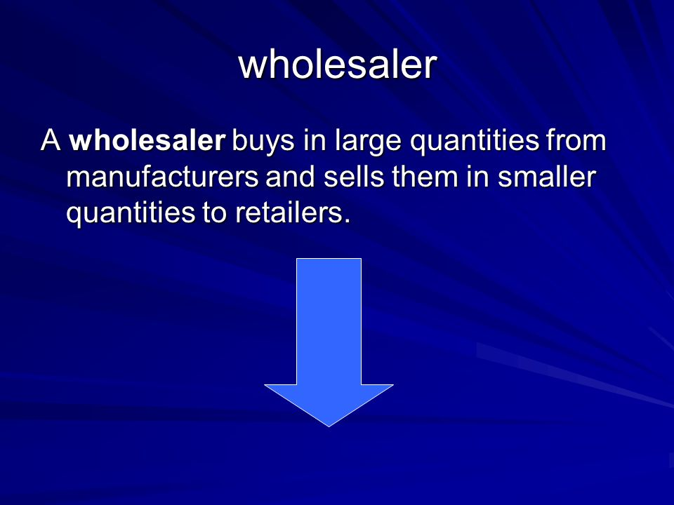 retailer A retailer sells goods in small quantities to individual consumers.