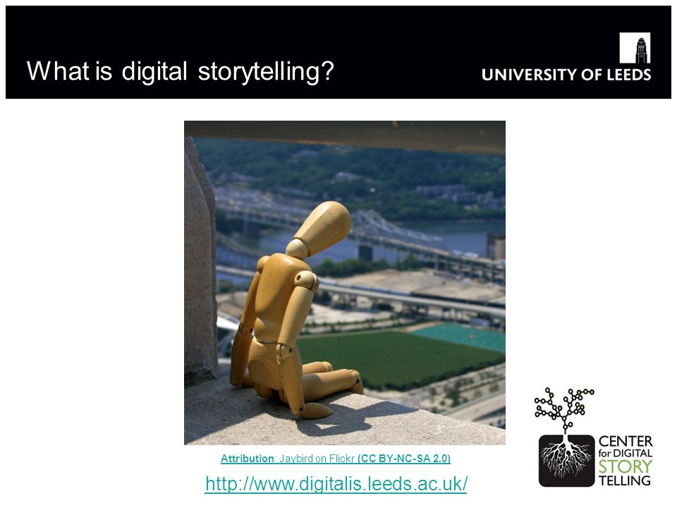 What is digital storytelling.