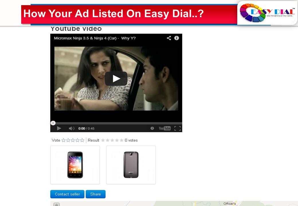 How Your Ad Listed On Easy Dial..?