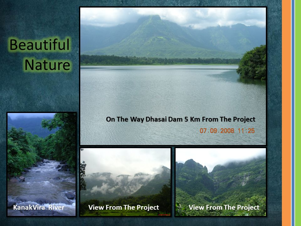 On The Way Dhasai Dam 5 Km From The Project View From The Project KanakVira River