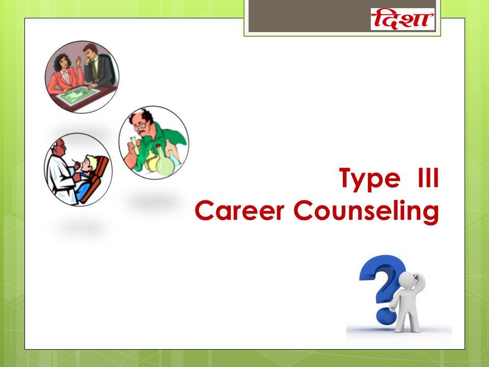 Type III Career Counseling