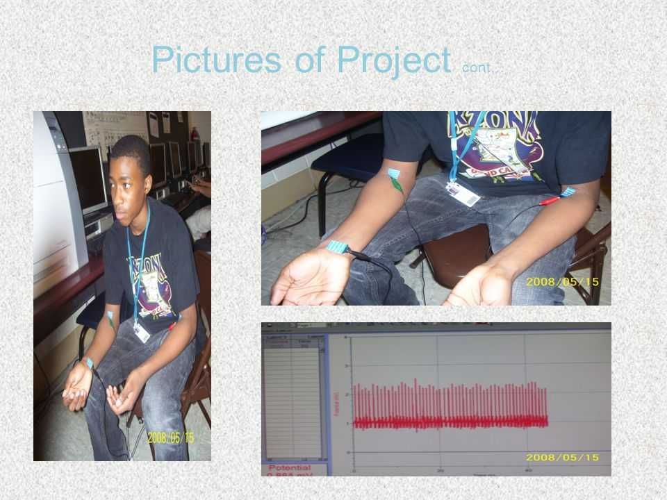 Pictures of Project cont…
