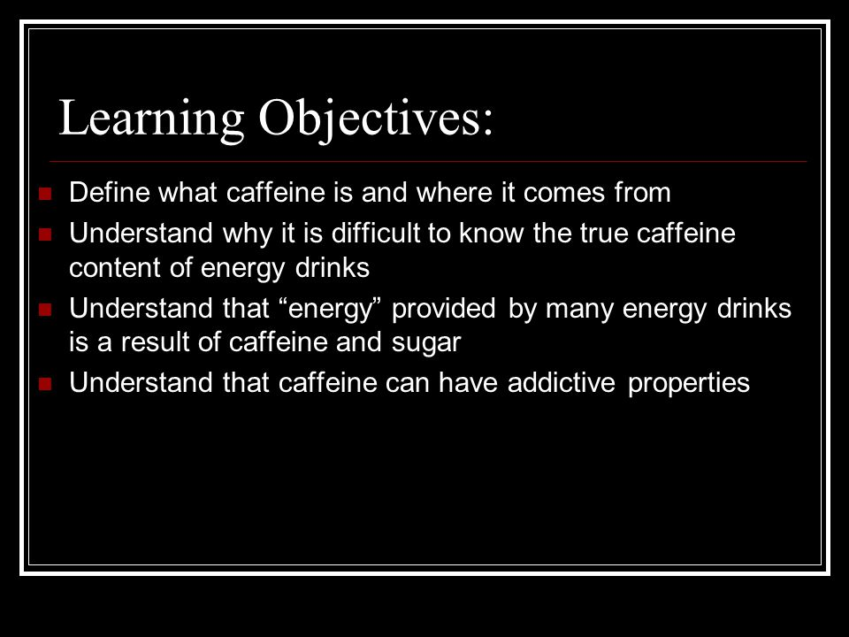 Do energy drinks counteract the effects of alcohol.