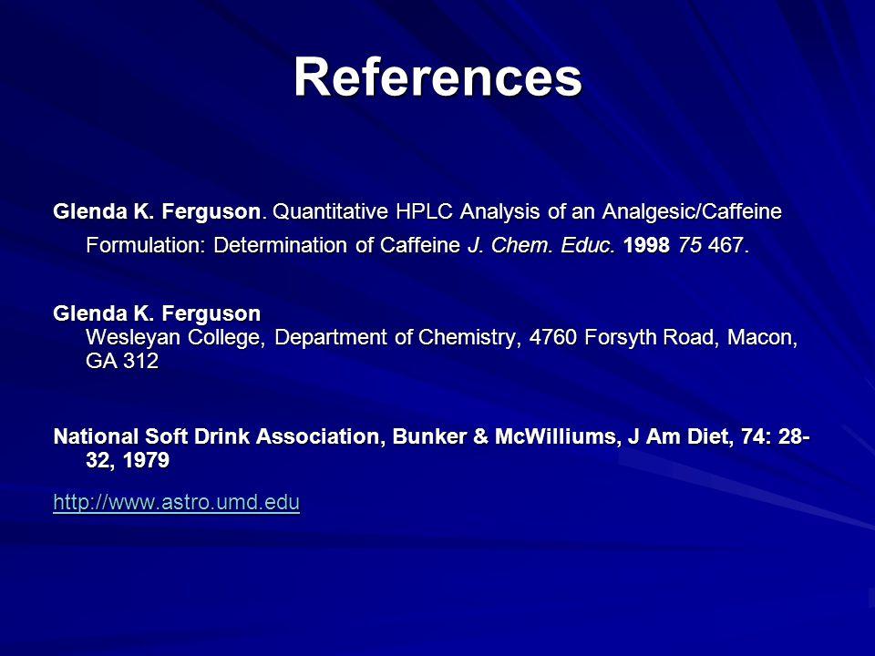 References Glenda K. Ferguson.