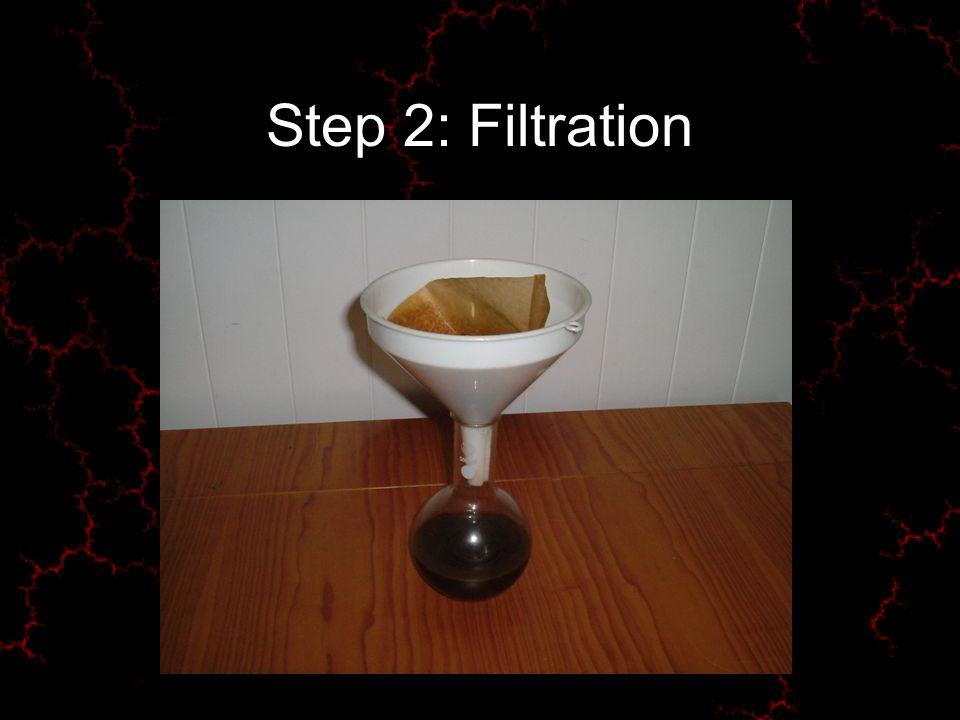 Step 2: Filtration