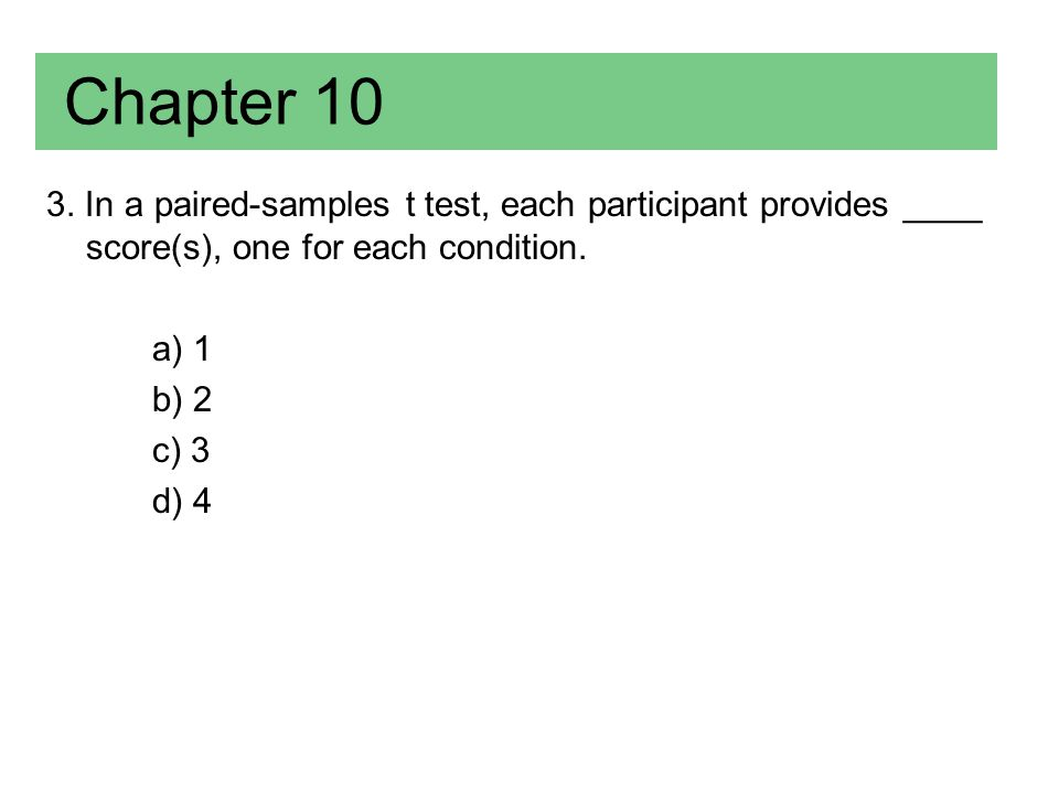 Chapter 10 (Answer) 3.