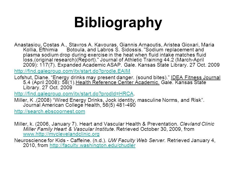 Bibliography Anastasiou, Costas A., Stavros A.