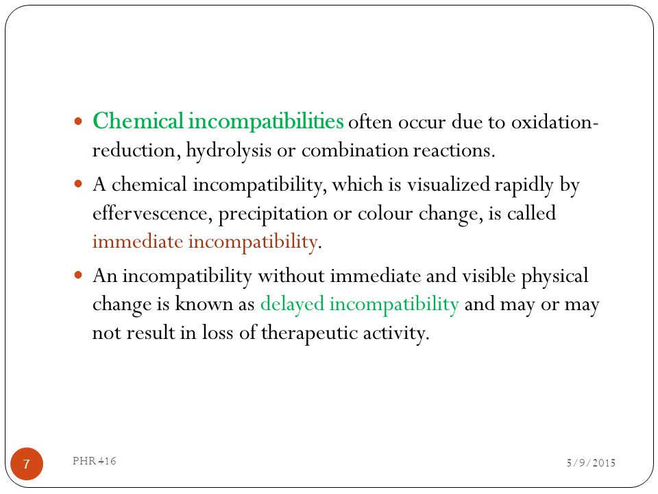 Examples: Camphor,menthol, phenol, thymol,chloral hydrate, sodium salicylate, Aspirin, phenazone.