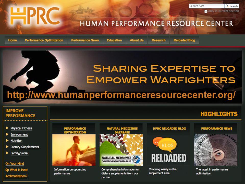 http://www.humanperformanceresourcecenter.org/