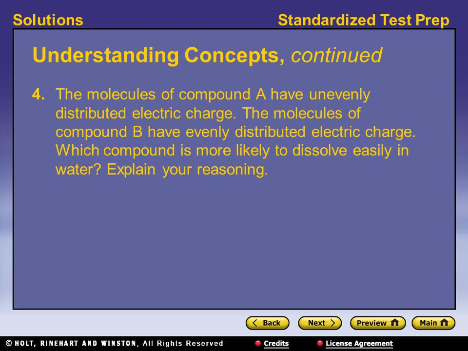 Standardized Test PrepSolutions Interpreting Graphics, continued 8.