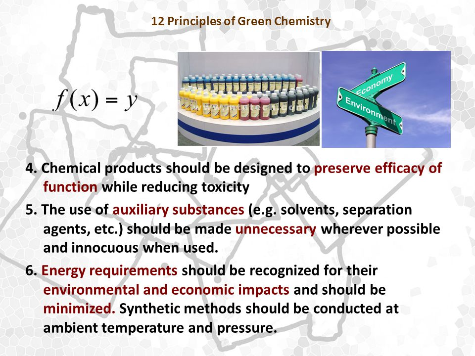 12 Principles of Green Chemistry 4.
