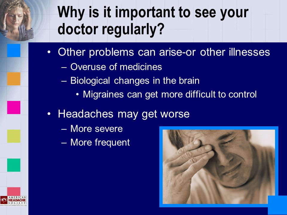 Why is it important to see your doctor regularly.