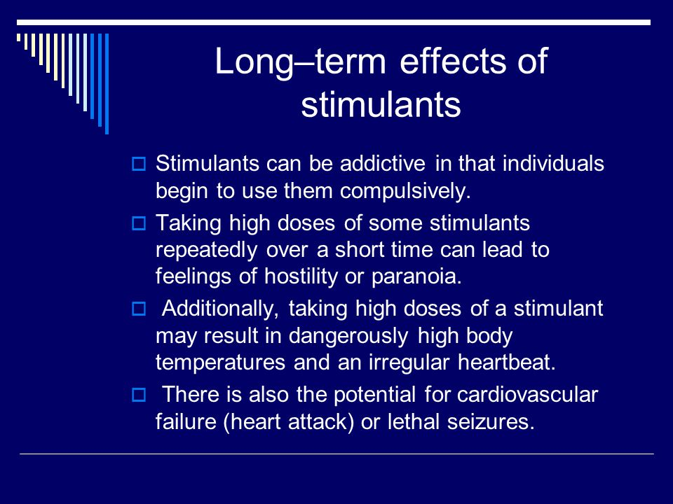 Let's look at some common stimulants