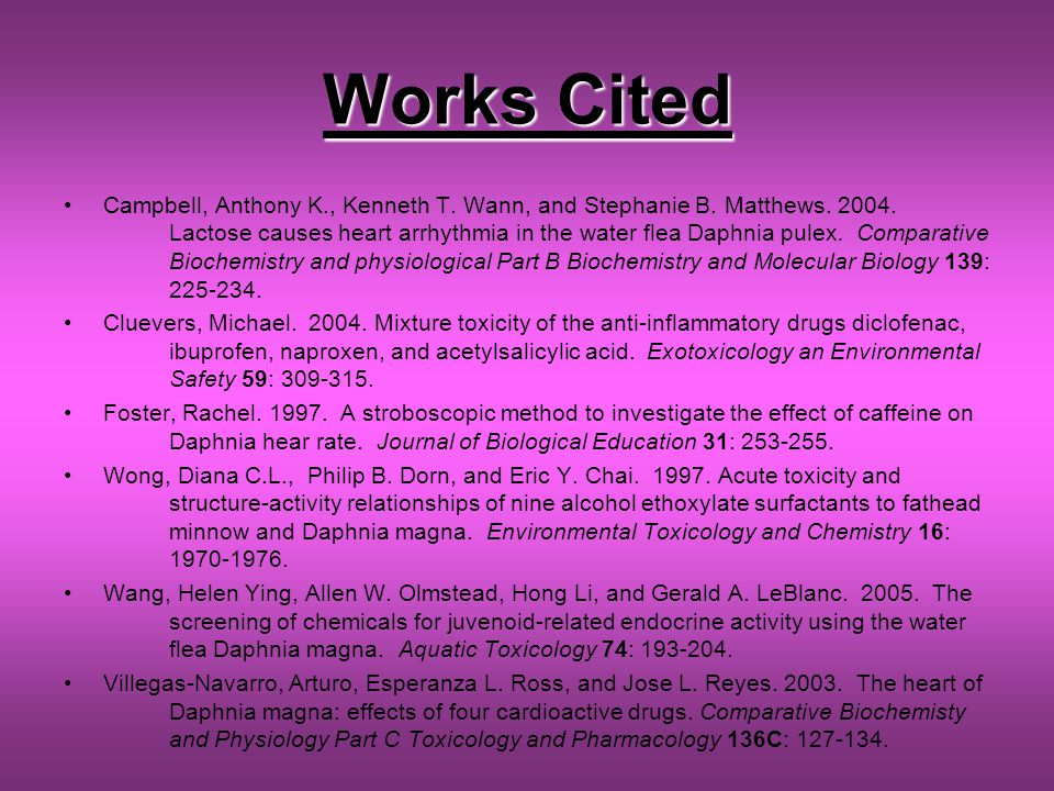 Works Cited Campbell, Anthony K., Kenneth T. Wann, and Stephanie B.