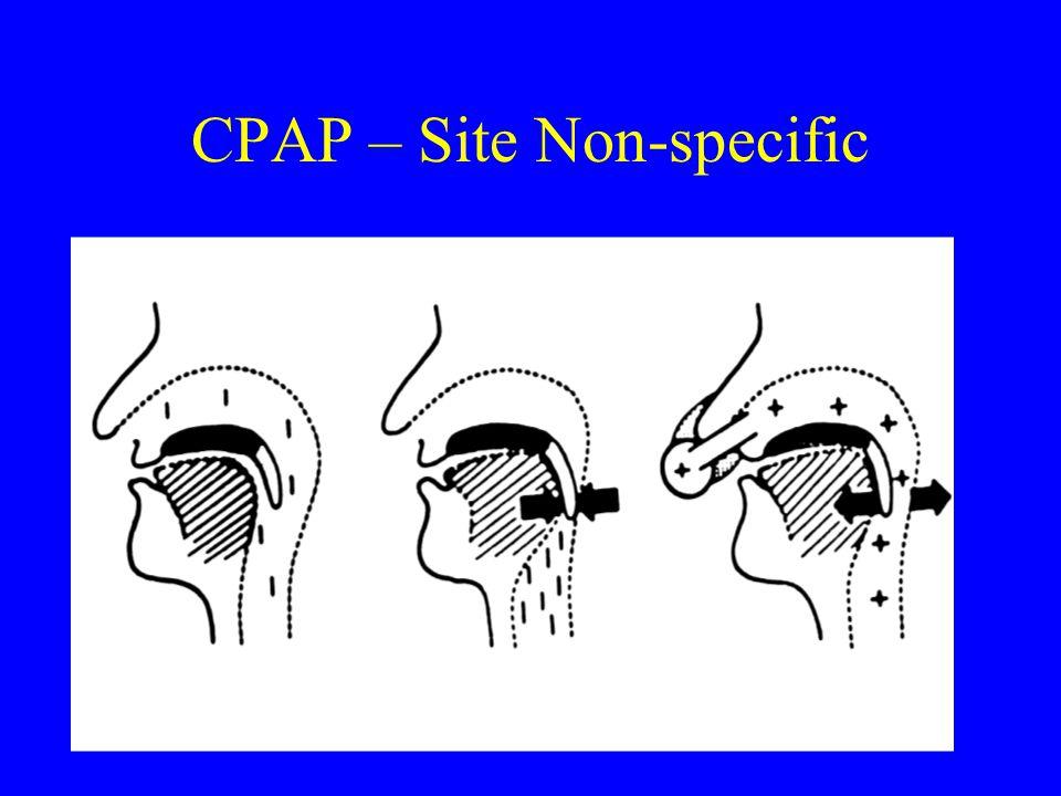 CPAP – Site Non-specific