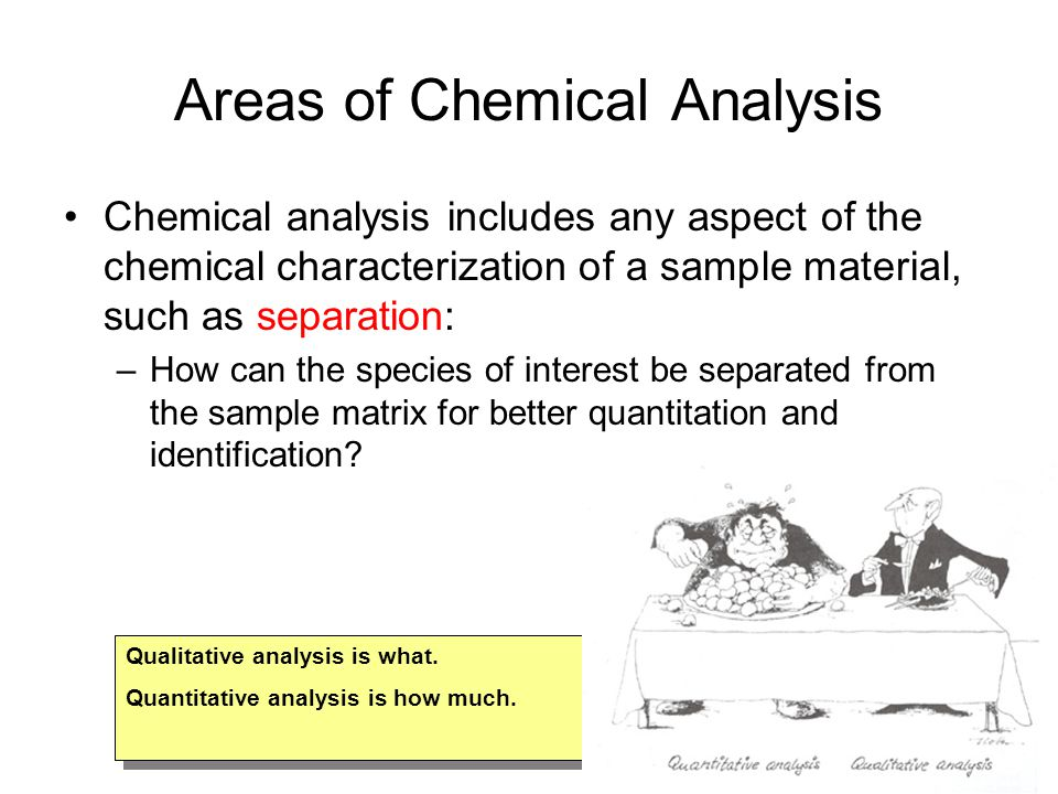 What Do Chemical Analysts Do.