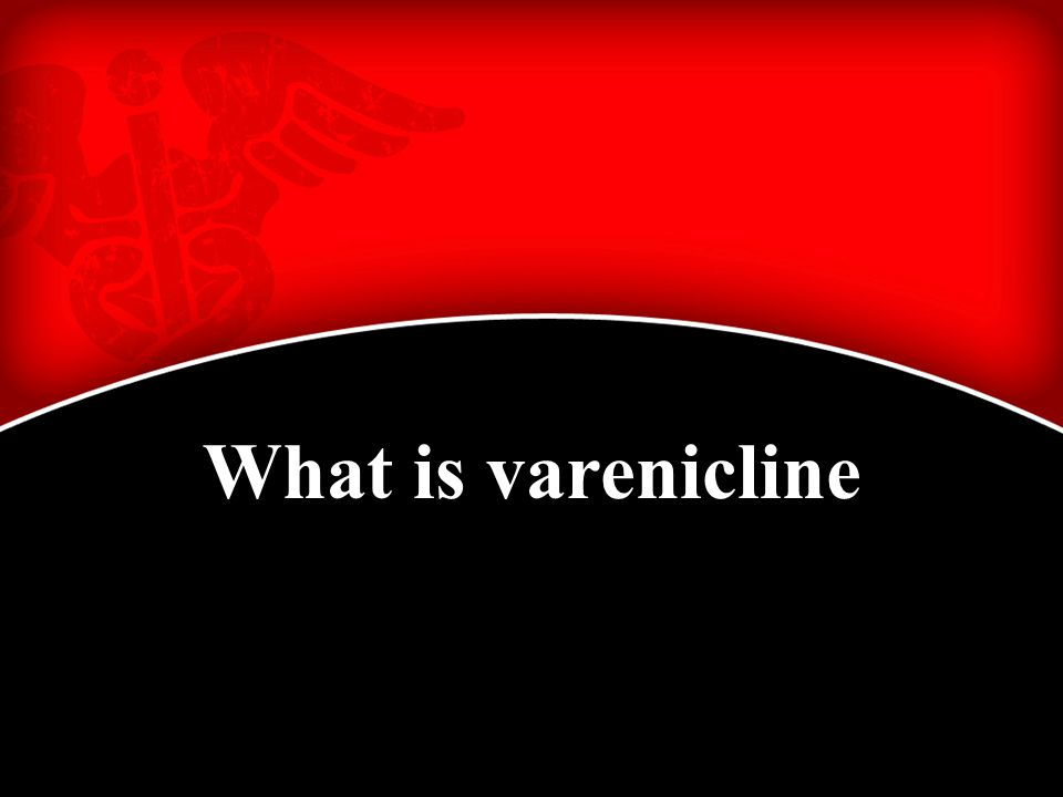 What is varenicline