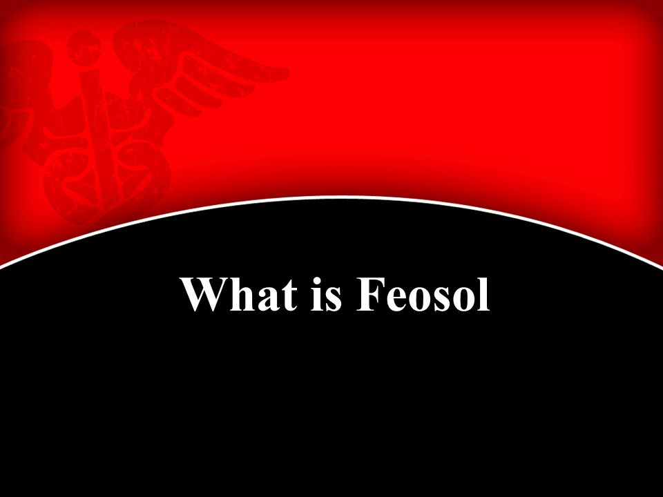 What is Feosol