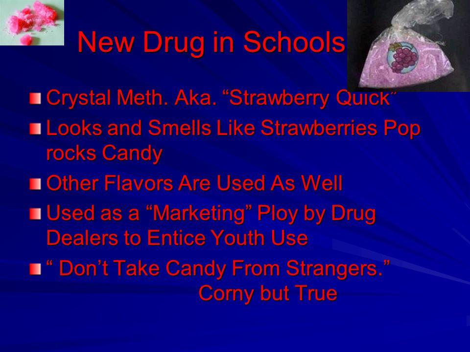 New Drug in Schools Crystal Meth.Aka.
