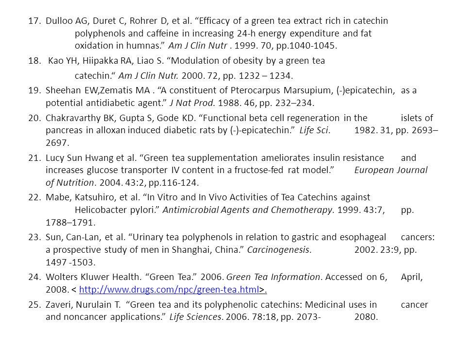 17.Dulloo AG, Duret C, Rohrer D, et al.