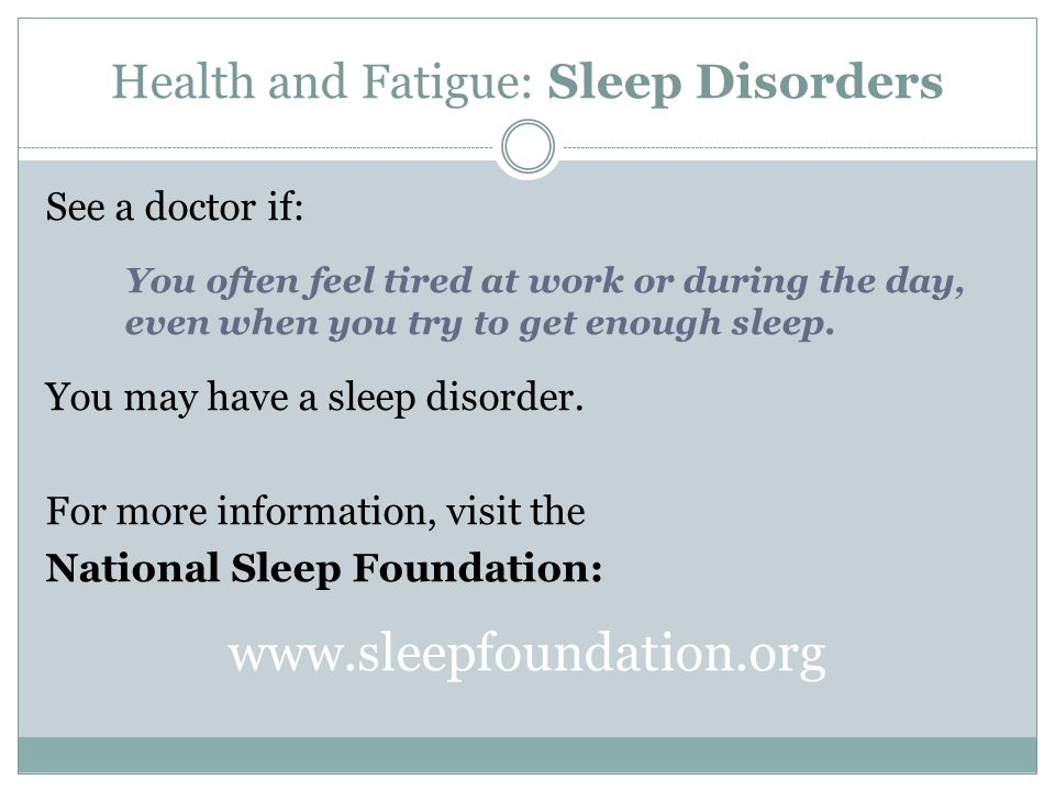 Health and Fatigue: Questions Why is it important to be aware of my diet when working night shifts.