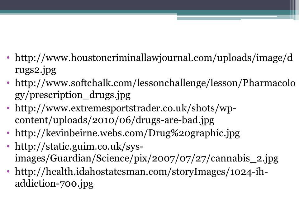 http://www.houstoncriminallawjournal.com/uploads/image/d rugs2.jpg http://www.softchalk.com/lessonchallenge/lesson/Pharmacolo gy/prescription_drugs.jp