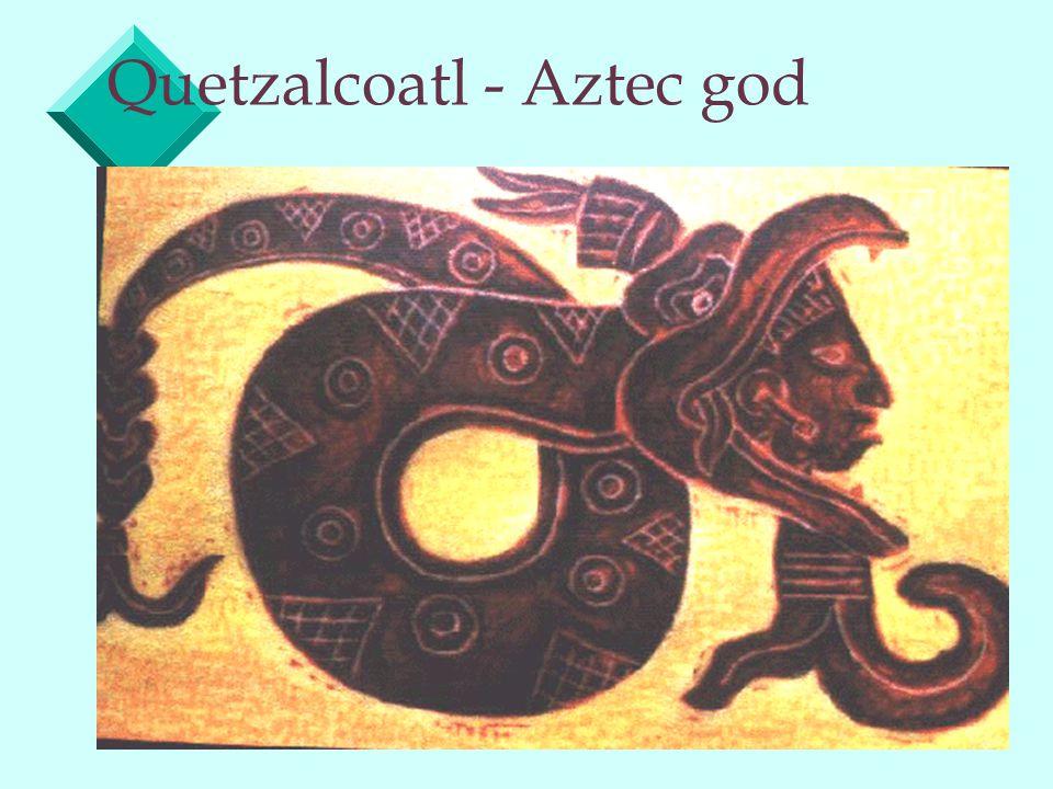 Quetzalcoatl - Aztec god