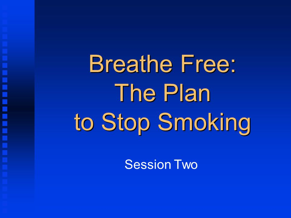 The physical addiction to nicotine is relatively easy to break.