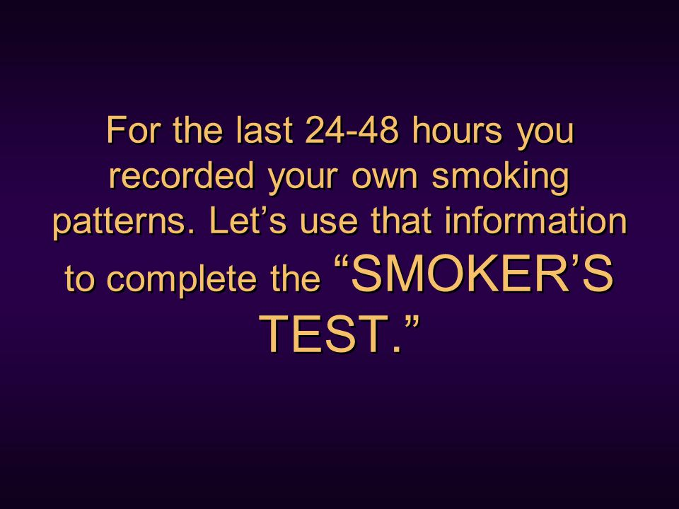 You may be surprised to realize you have smoked many cigarettes for reasons other than craving nicotine.