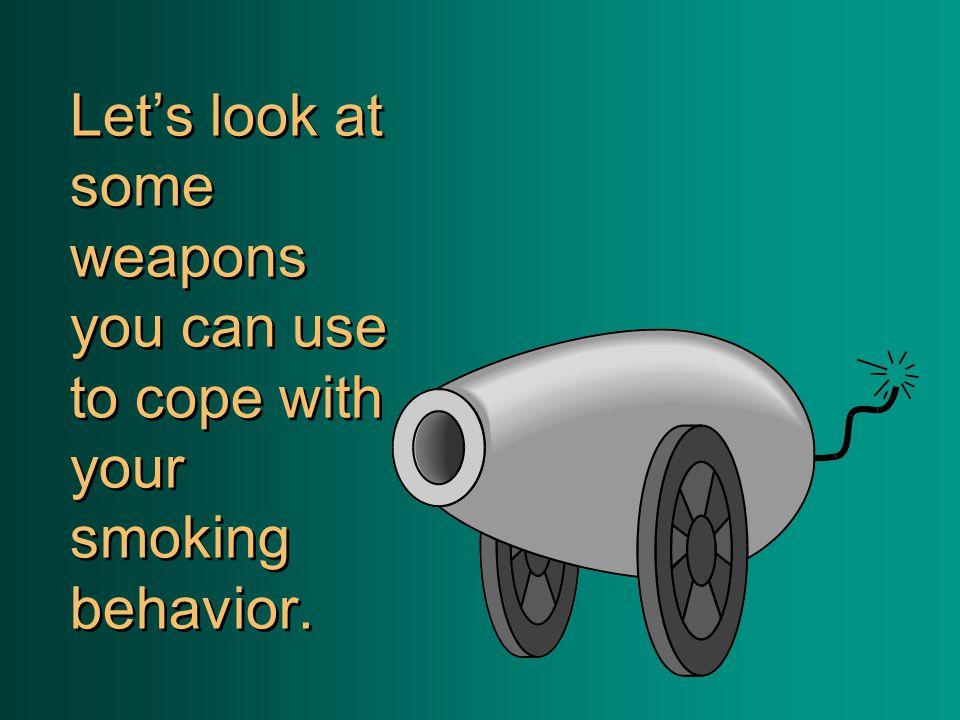 Do you smoke for STIMULATION ?