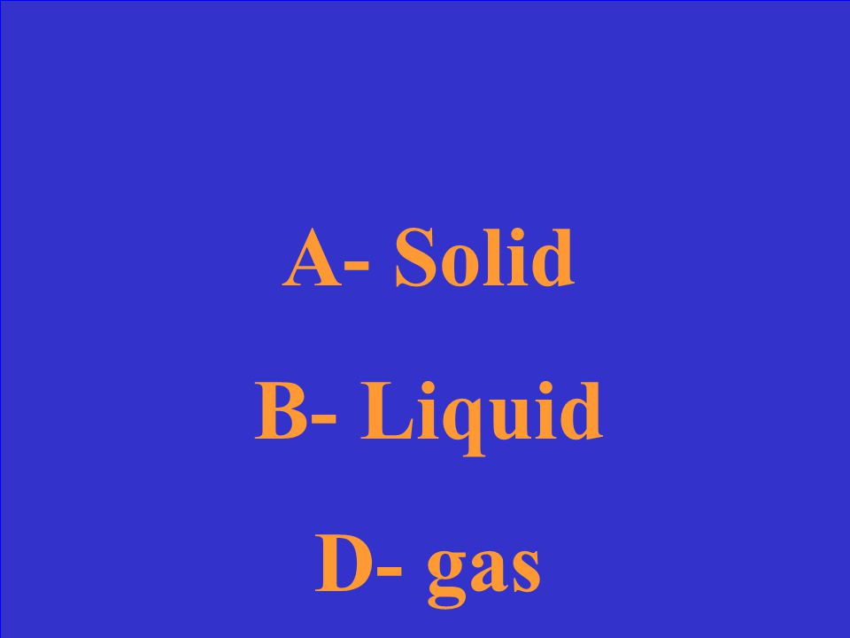 What does substance A, B and C represent?